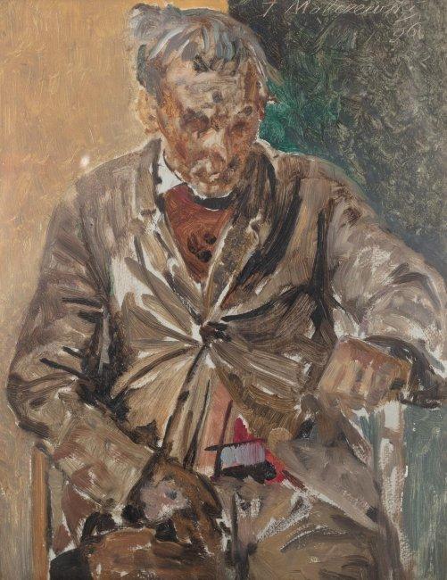 Jacek Malczewski   Portret mężczyzny, 1896 r.
