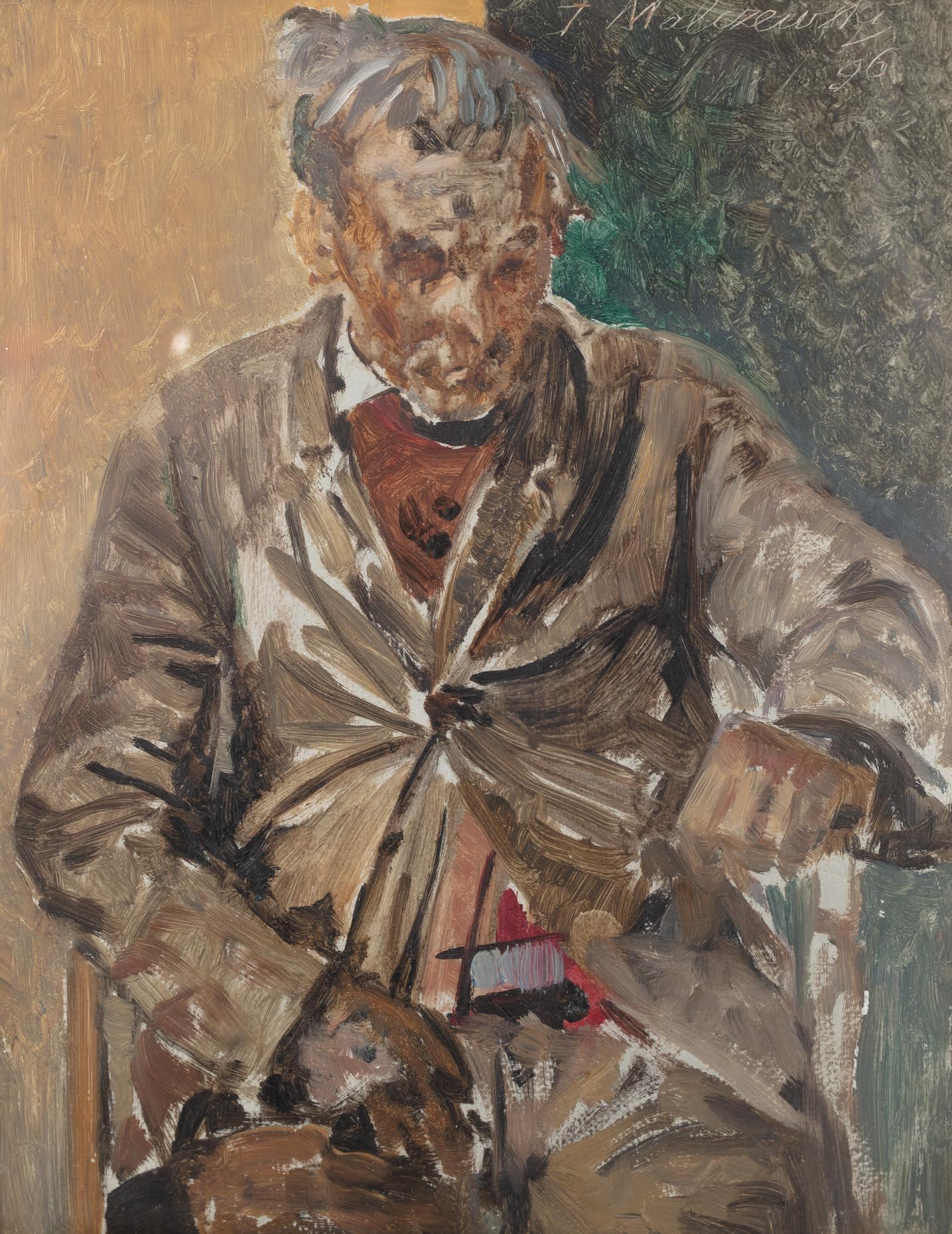 Jacek Malczewski | Portret mężczyzny, 1896 r.