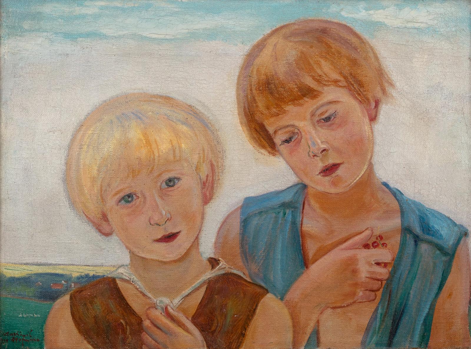 Wlastimil Hofman   Dzieci, lata 30-te XX w.