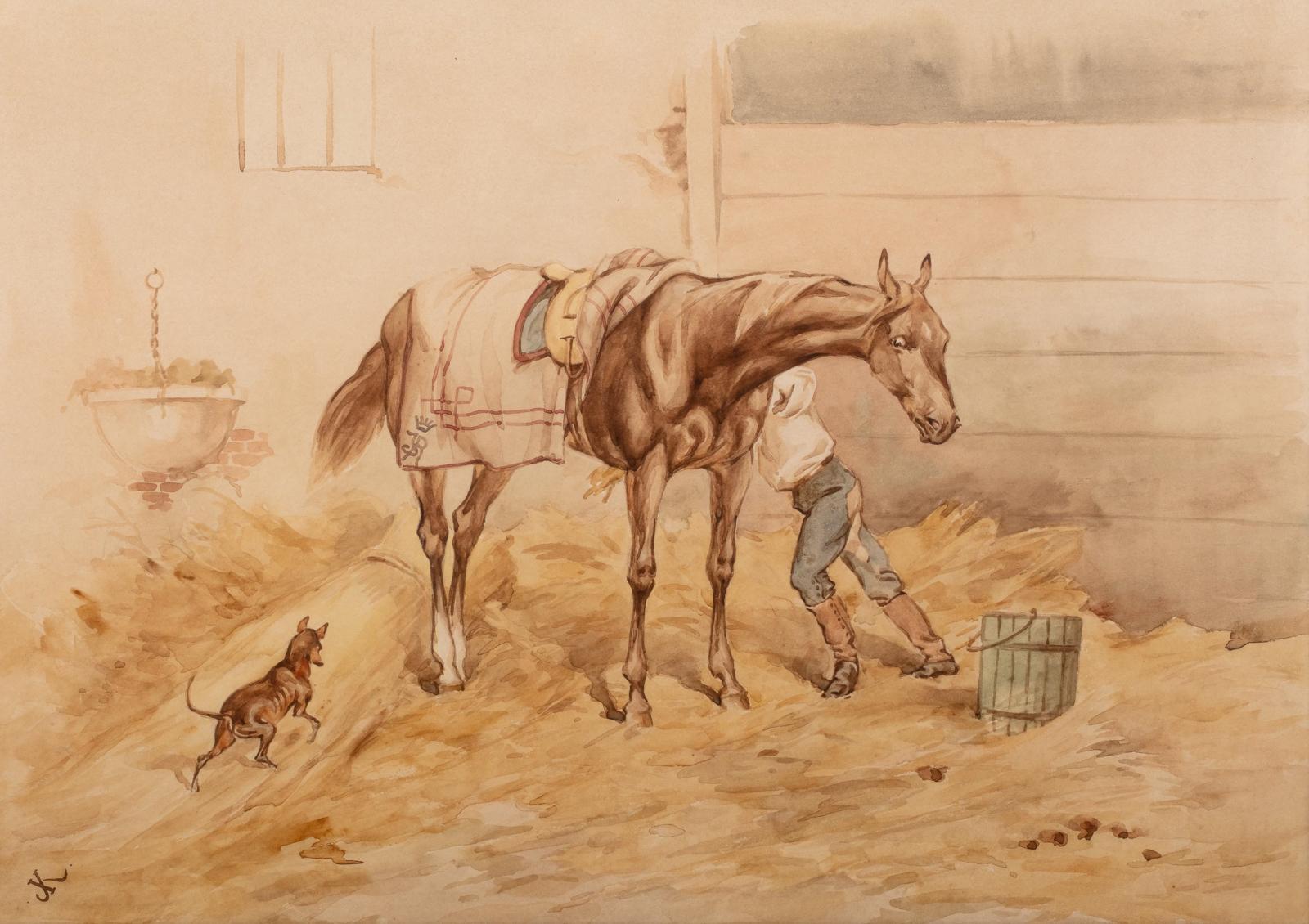 Juliusz Kossak   Koń