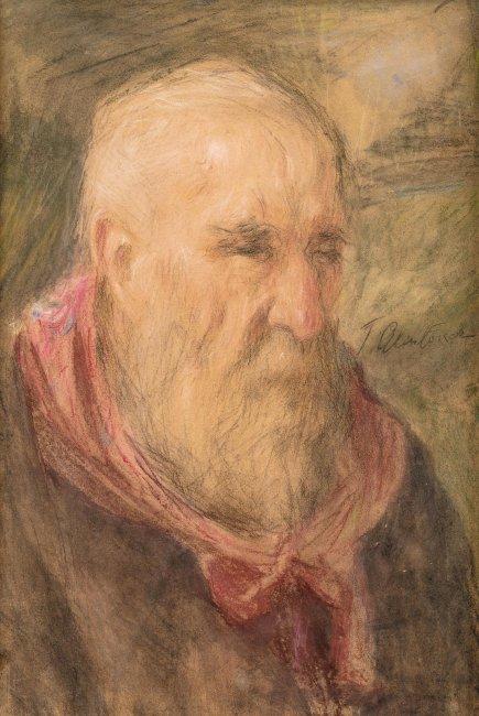 Teodor Axentowicz   Portret mężczyzny