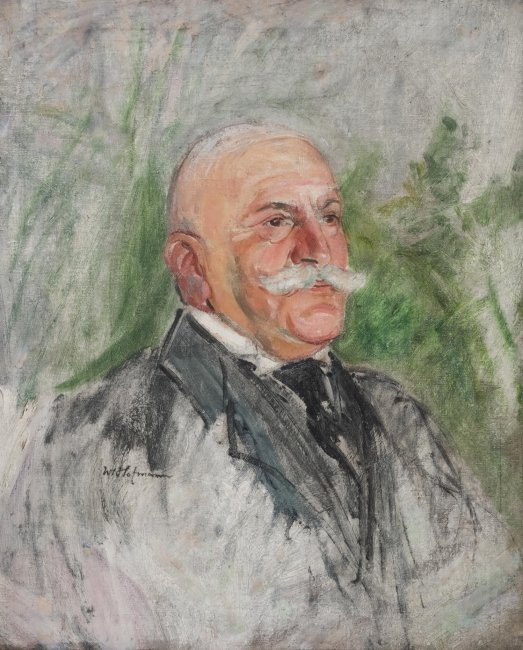 Wlastimil Hofman   Portret mężczyzny, lata 1910–15