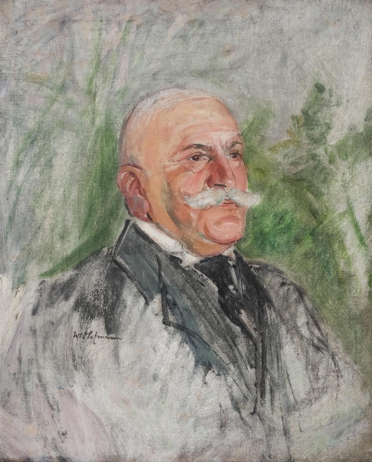 Wlastimil Hofman | Portret mężczyzny, lata 1910–15