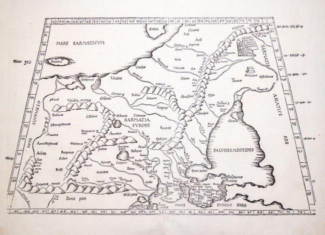 Klaudiusz Ptolemeusz | Tabula VIII Europae