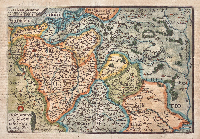 Johann Bussemacher | Poloniae finitimarum que locorum descriptio…