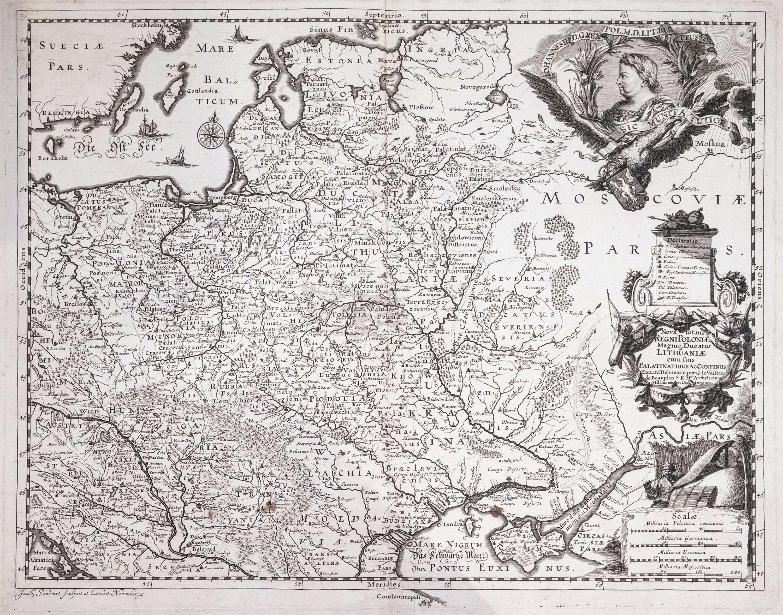 Jacob Sandrart | Nova Totius Regni Poloniae Magniq Ducatus Lithuanie cum fuis Palatinatibus Acconfiniis