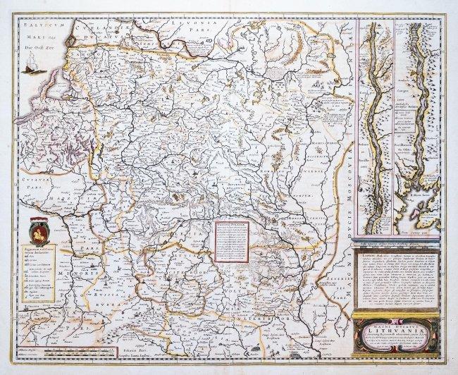 Henricus Hondius | Magni Ducatus Lithuaniae