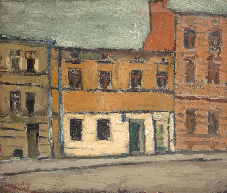 Jerzy Nowosielski | Ulica Karmelicka w Krakowie, 1945