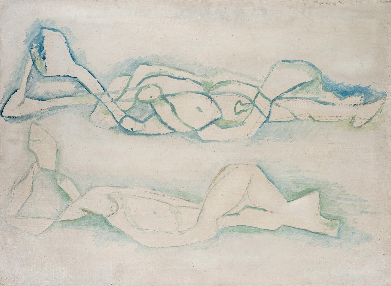 Jerzy Panek   Leżące kobiety, 1969