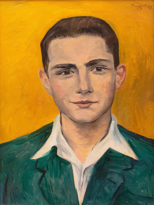 Wojciech Fangor | Portret mężczyzny, 1949
