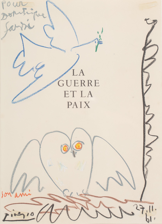 Pablo Picasso   Wojna i Pokój, 1961