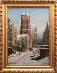 Ulica Piwna zimą