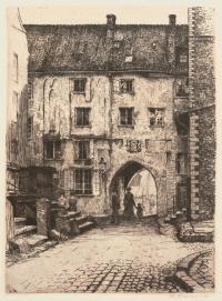 Brama Mariacka w Gdańsku, 1908 r.