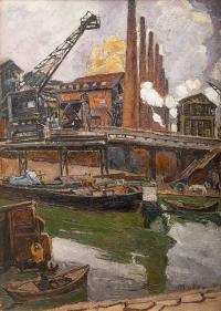 Pejzaż industrialny