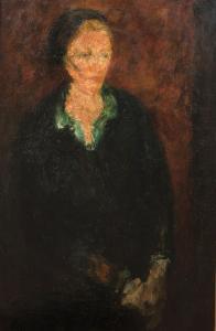 Femme au chemisier vert, ok. 1930 r.