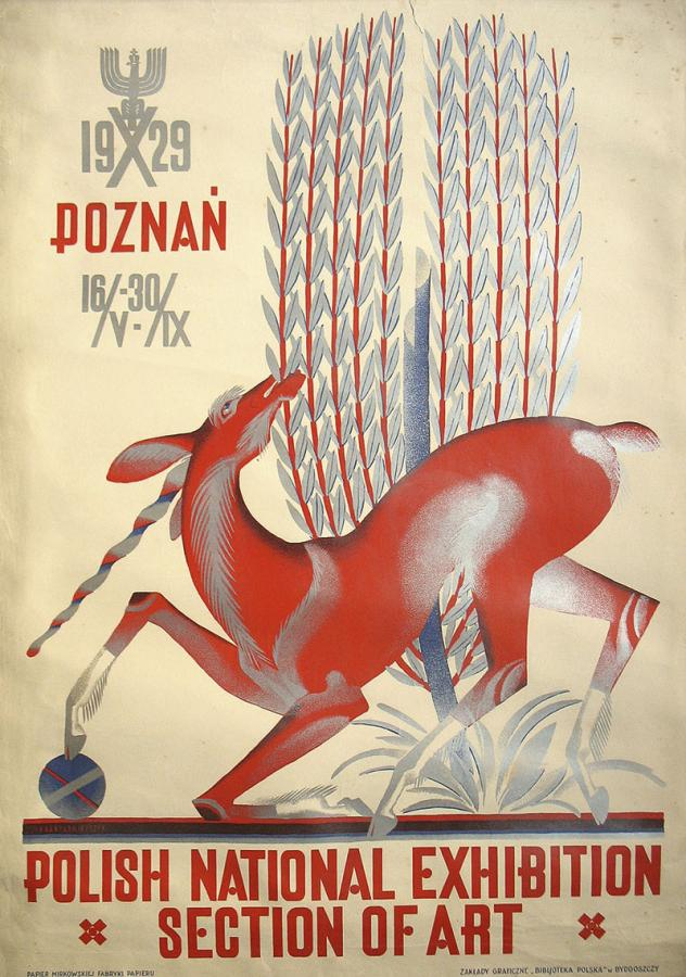 Polish National Exhibition. Section of Art. Poznań 1929 r.