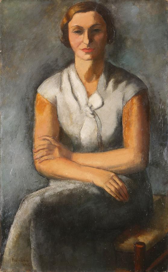 Portret pani A., 1914 r.
