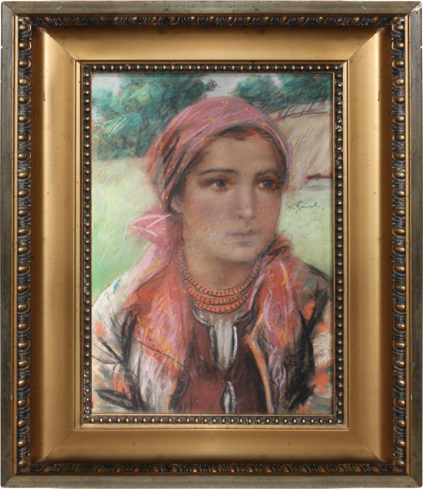 Portret młodej krakowianki