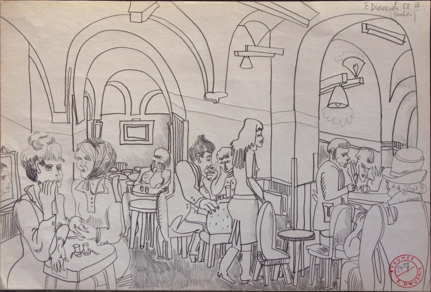 W kawiarni