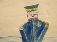 Żołnierzyk, około 1889 r.