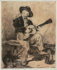 Gitarzysta, 1861 r.