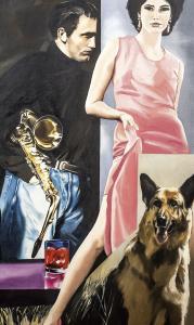 Muzyka, Kobieta i... pies