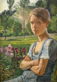 Portret Wincentego Wodzinowskiego juniora – syna artysty, 1905 r.
