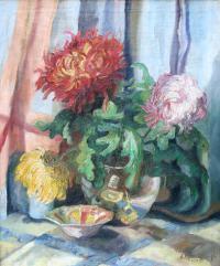 Martwa natura z kwiatami, 1949 r.