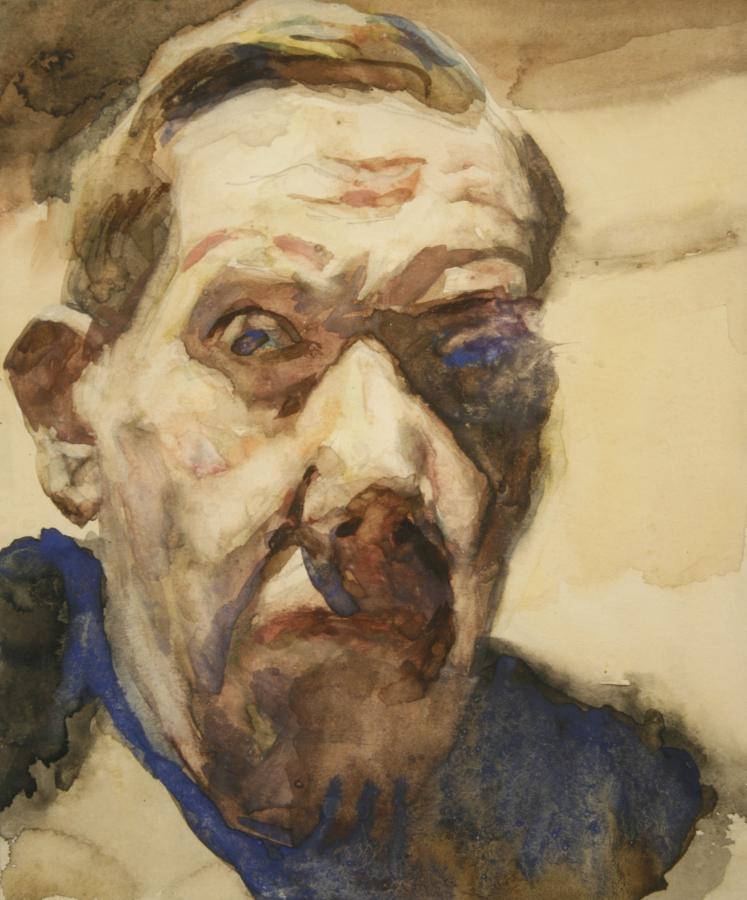 Autoportret Stanisława Kamockiego, 1943 r.