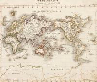 Welt Charte in Mercators Projektion 1852
