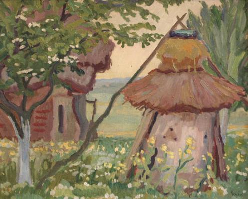 Ule w ogrodzie