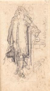 Król Jan Kazimierz podczas abdykacji