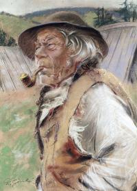 Góral z fajką