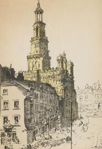Ratusz w Poznaniu, 1933 r.