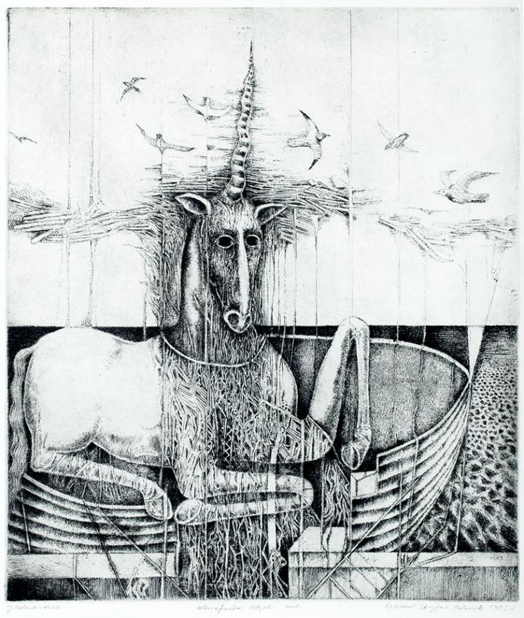 Jednorożec, 1983 r.