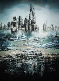 Zamgliste metropolis VI, 2015