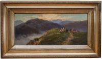 Pejzaż górski, 1904 r.