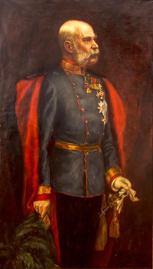 Cesarz Franciszek Józef, 1908 r.