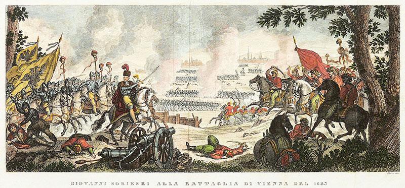 Giovanni Sobieski alla battaglia di Vienna del 1683