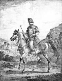 Dostojnik perski, 1819 r.