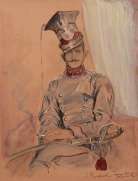Portret podporucznika