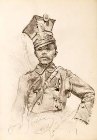 Ułan I Pułku, 1932 r.