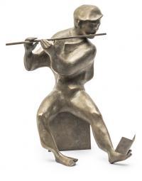 Grający na flecie, 1984 r.