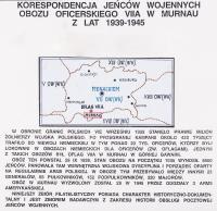 ZBIÓR WYSTAWOWY KORESPONDENCJI JEŃCÓW WOJENNYCH OBOZU OFICERSKIEGO VIIA W MURNAU Z LAT 1939-1945