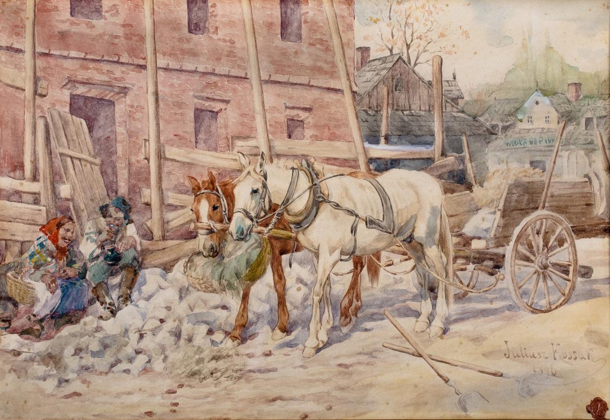 Południowy odpoczynek, 1896 r.