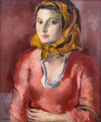 Portret kobiety, lata 1930?40.