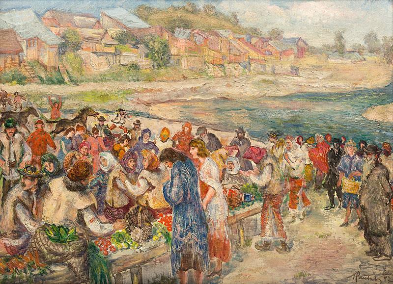 Targ na Ukrainie, przed 1935 r.