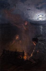 Wśród płomieni, 1907 r.