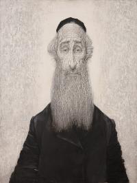 Portret Rabina, 1972 r.