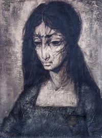 Portret kobiety z cyklu Ghetto